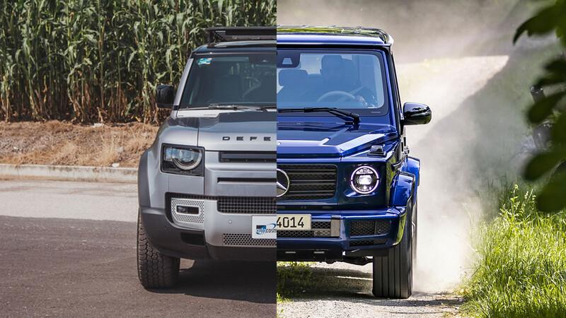 Mercedes-Benz Clase G vs Land Rover Defender, ¿cuál de estos 4x4 de lujo es mejor opción?