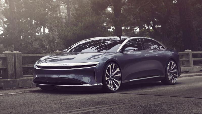 Lucid Air 2021, el nuevo rival del Taycan y del Model S ofrece 832 kilómetros de autonomía