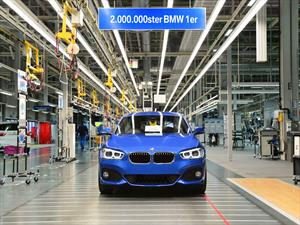 BMW Serie 1 llegó a las 2 millones de unidades