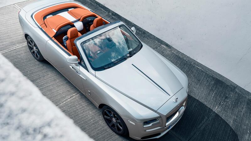 Rolls-Royce Dawn Silver Bullet, belleza descapotable