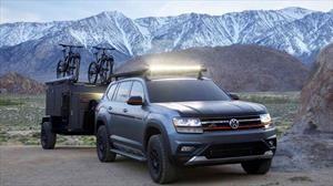 Volkswagen Atlas Basecamp Concept es un SUV personalizado para el off-road