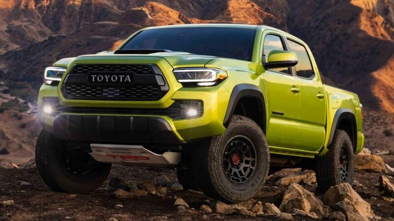 Toyota Tacoma Pro viene con el sello TRD