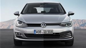 Estas son las diferencias entre el Volkswagen Golf 8 y la generación anterior