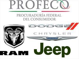 FCA llama a revisión a 122,208 unidades en México