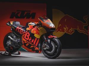 KTM lanza su moto para el MotoGP