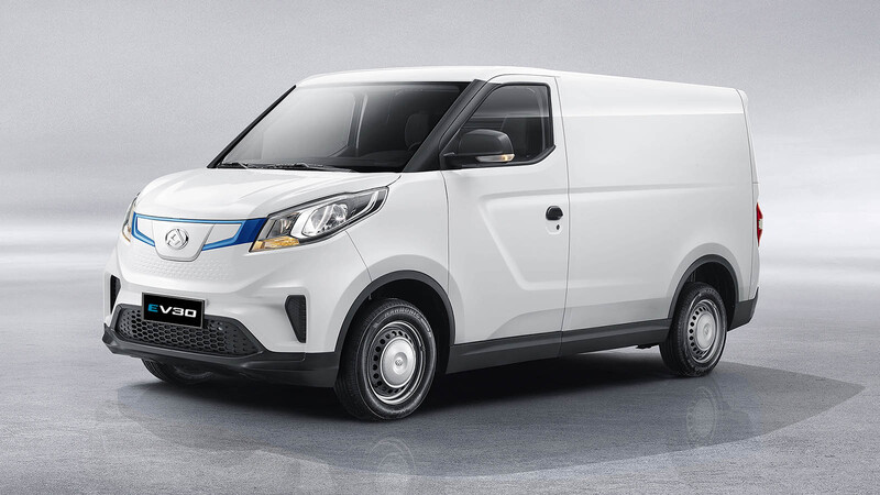 Maxus EV30 2021 en Chile, una nueva alternativa entre los comerciales eléctricos