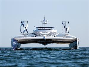 Energy Observer, el primer barco que se alimenta del agua de mar