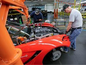 Chevrolet se alista para producir el Corvette 2018