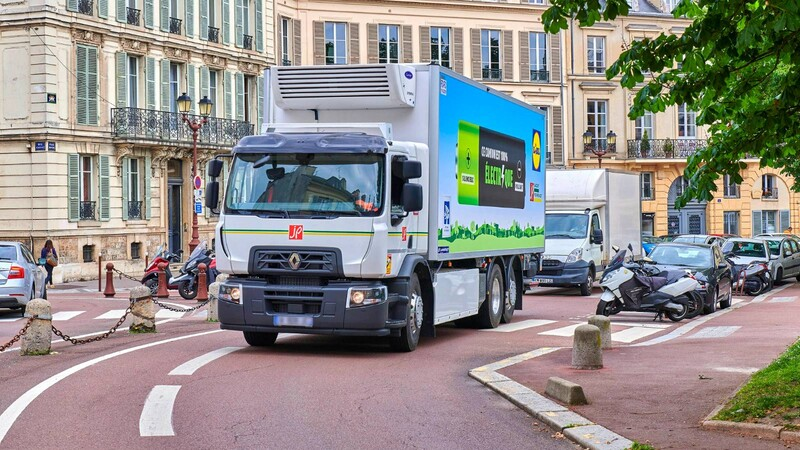 Renault se afianza en el mercado de los camiones eléctricos