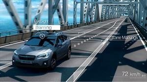 Subaru tiene la visión puesta en desarrollar vehículos cada vez más seguros