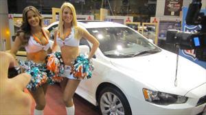 Mitsubishi Motors da inicio a sus actividades con la NFL