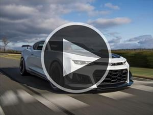 Video: Chevrolet Camaro ZL1 1LE, musculatura en acción