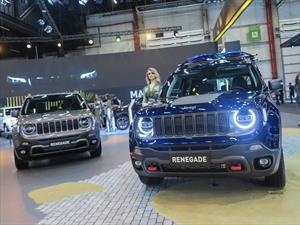 Jeep presenta la actualización del Renegade en Sao Paulo