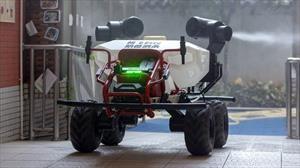XAG R80 es el vehículo autónomo que combate al coronavirus