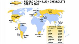 Chevrolet fue récord en 2011