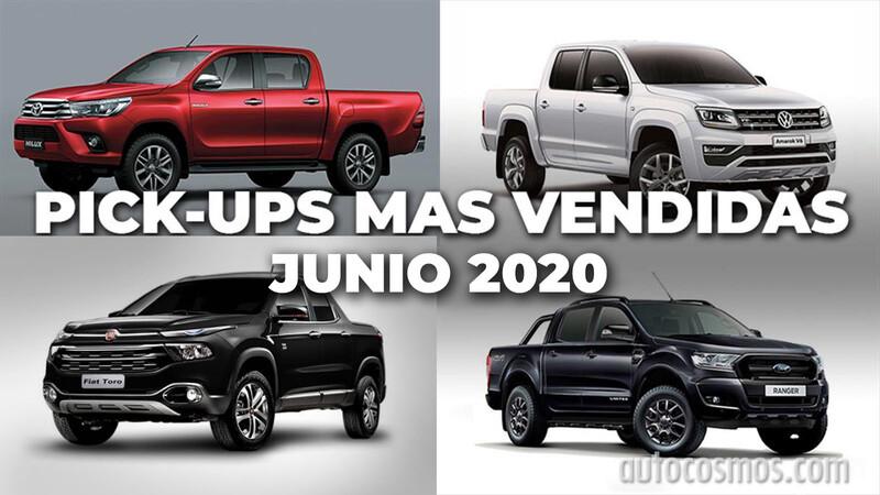 Las pick-ups más vendidas de Argentina en junio de 2020