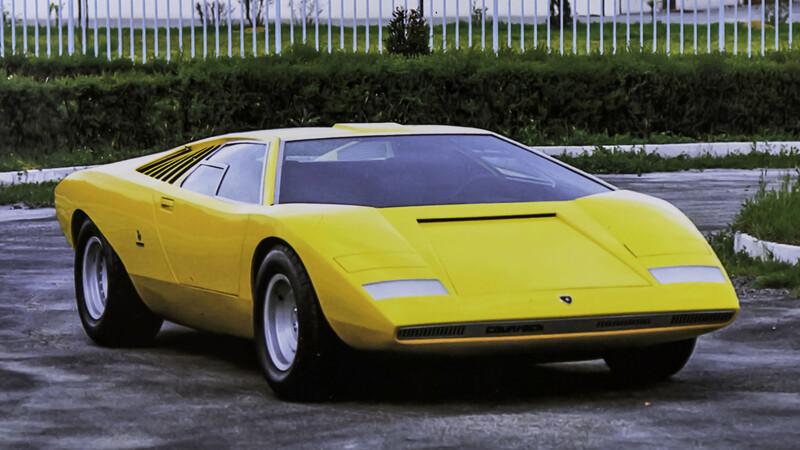 Lamborghini Countach LP500: A medio siglo del lanzamiento del prototipo