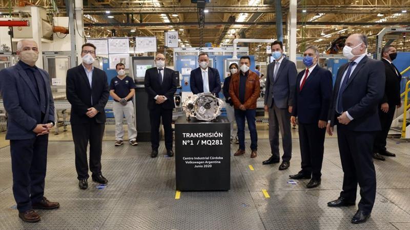 Volkswagen fabrica en Argentina una nueva caja manual