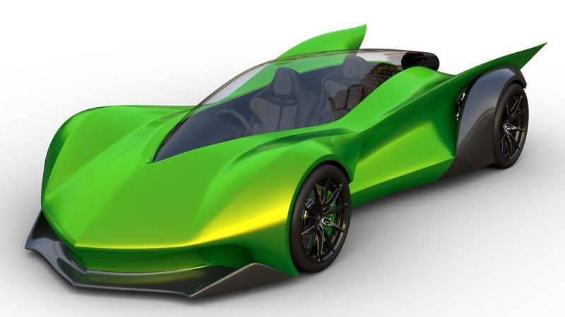 Conoce al super carro creado por un niño de 10 años
