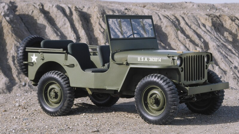 """Los antecesores del Jeep Wrangler, el Jeep """"original"""""""