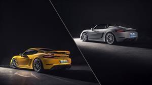 Porsche presenta los nuevos 718 Boxster Spyder y Cayman GT4