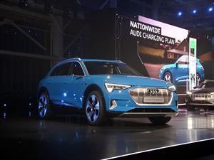 Audi entra a la competencia de los SUVs eléctricos con el e-tron 2020