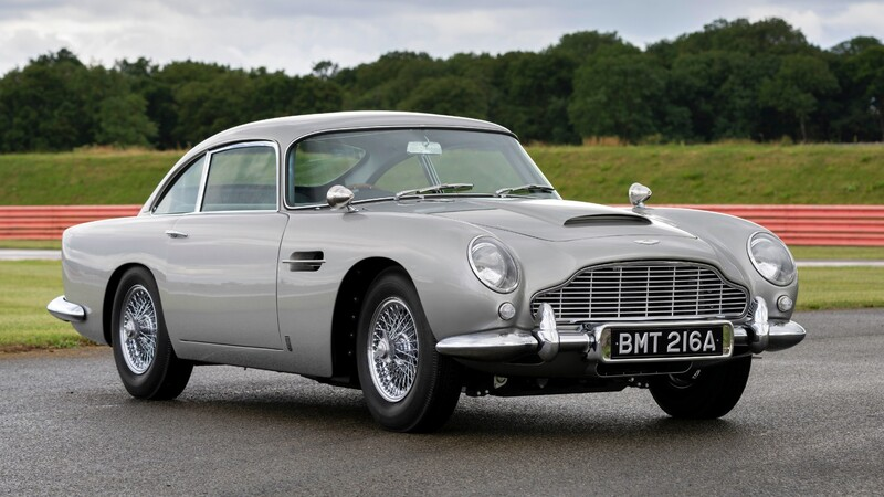 Aston Martin DB5 Goldfinger Continuation, el primero de James Bond