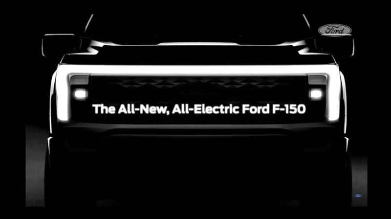 La nueva Ford F-150 eléctrica dá la cara