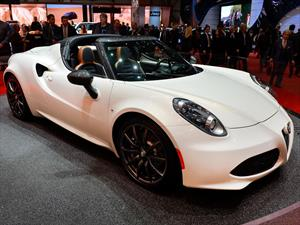 Alfa Romeo 4C Spider se presenta