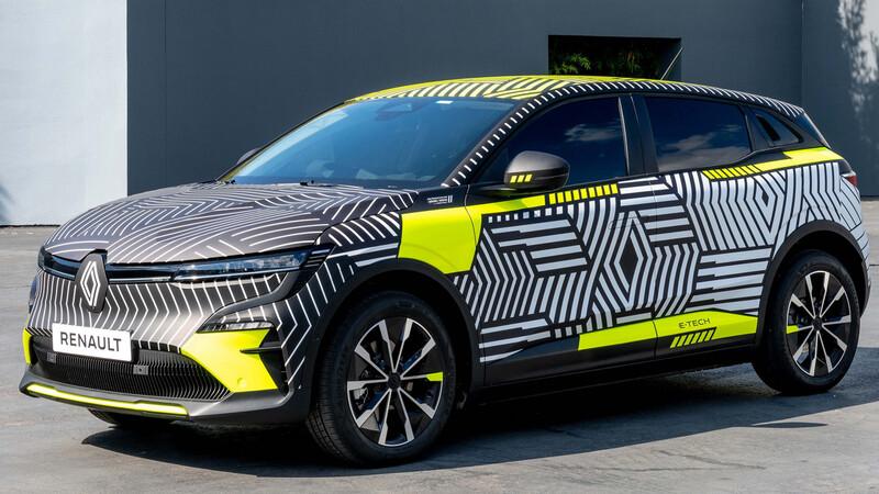 Renault Megane E-Tech EV, este crossover eléctrico se deja ver con camuflaje