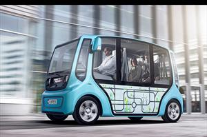 Rinspeed microMAX un prototipo de transporte colectivo eléctrico