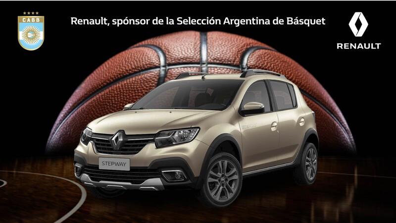 Renault Argentina es nuevo sponsor de la Selección Argentina de básquet
