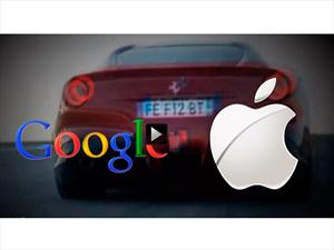 Video: Google y Apple luchan por instalarse en tu próximo auto