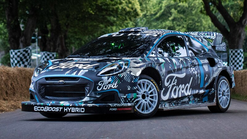 Ford Puma Rally1 es el auto híbrido de rally que sustituye al Fiesta en el WRC