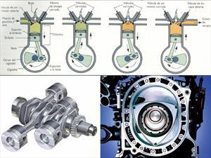 ¿Cuáles son los diferentes tipos de motores de autos?