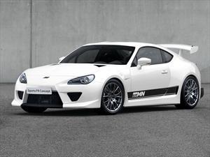 Toyota GT86 Sports FR Concept brilló en Inglaterra