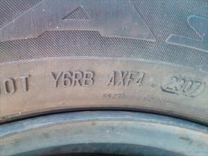 ¿Qué pasa si usamos neumáticos vencidos?