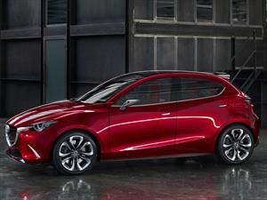 Mazda Hazumi Concept, anticipa el futuro Mazda2
