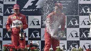 El día que los aficionados abuchearon a Ferrari y Michael Schumacher