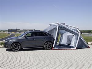 Audi Q3 Camping Tent, SUV con alojamiento propio