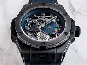El reloj Hublot que sólo puedes comprar con Bitcoin: El Big Bang Meca-10 P2P