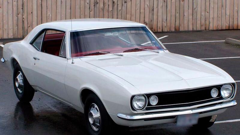 Se subasta un Chevrolet Camaro original y muy especial