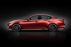 Infiniti Q50 Eau Rouge Concept debuta