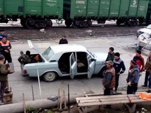 Video: Rusos viajan en Volga y establecen récord