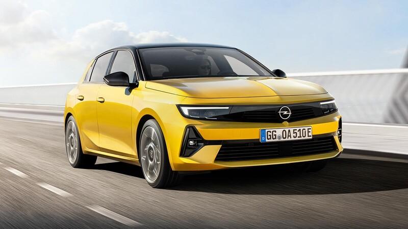 Opel Astra 2022, la sexta generación viene futurista y con tecnología híbrida