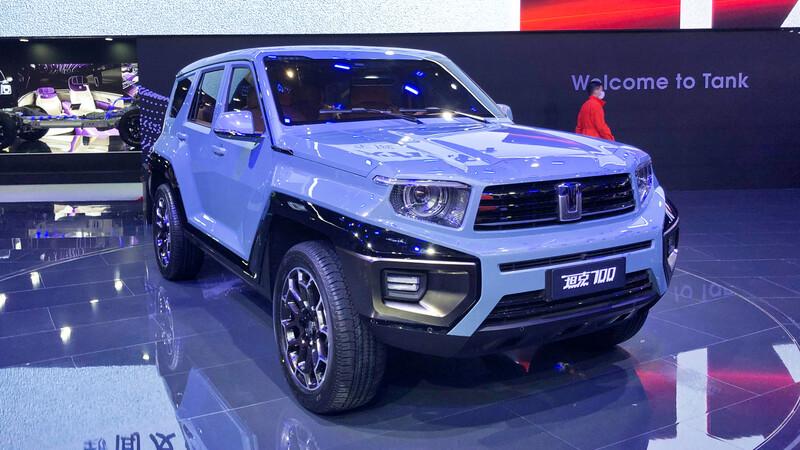 Great Wall presenta su nueva marca Tank, fabricante de autos similares al Hummer
