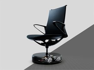 Nissan crea una silla que se acomoda sola