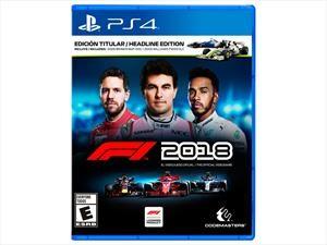 F1 2018, el videojuego oficial es presentado en México