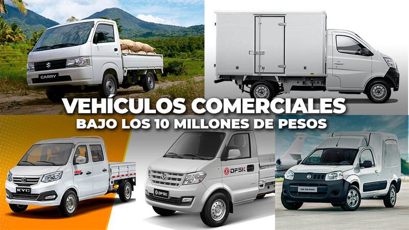Los vehículos comerciales bajo 10 millones de pesos en Chile