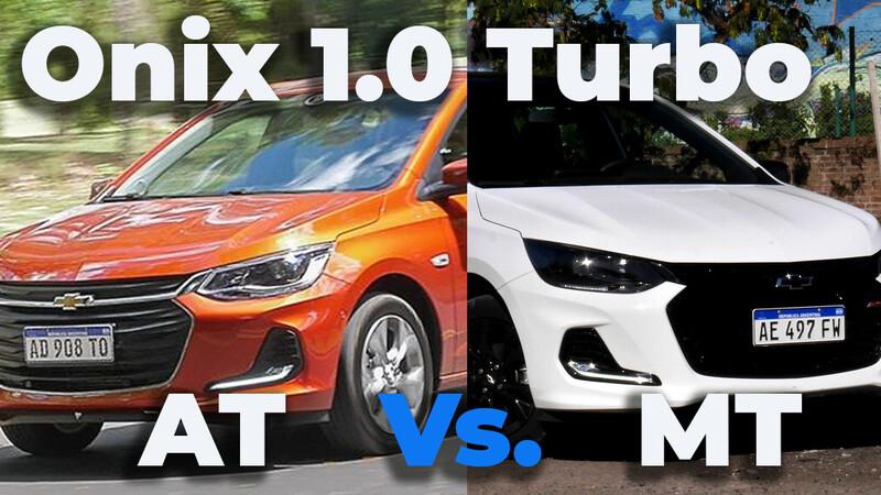 Chevrolet Onix 1.0 turbo manual Vs automático ¿cuál me compro?